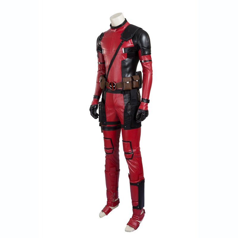 Deadpool X-Men costume cosplay outfit jumpsuit