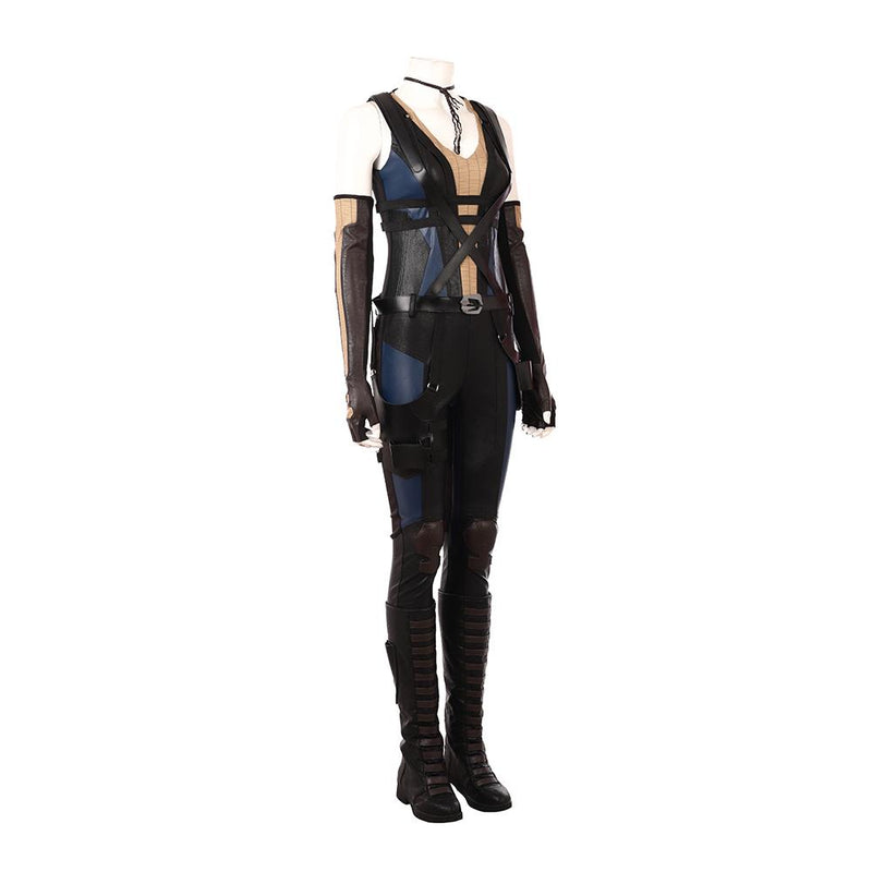 Deadpool 2 Domino cosplay  costume