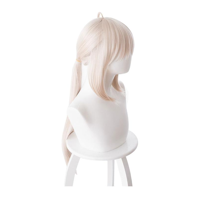 FGO Fate/Grand Order Saber Altria Chemical 70cm Light Pink Yellow Ponytail Cosplay Wigs