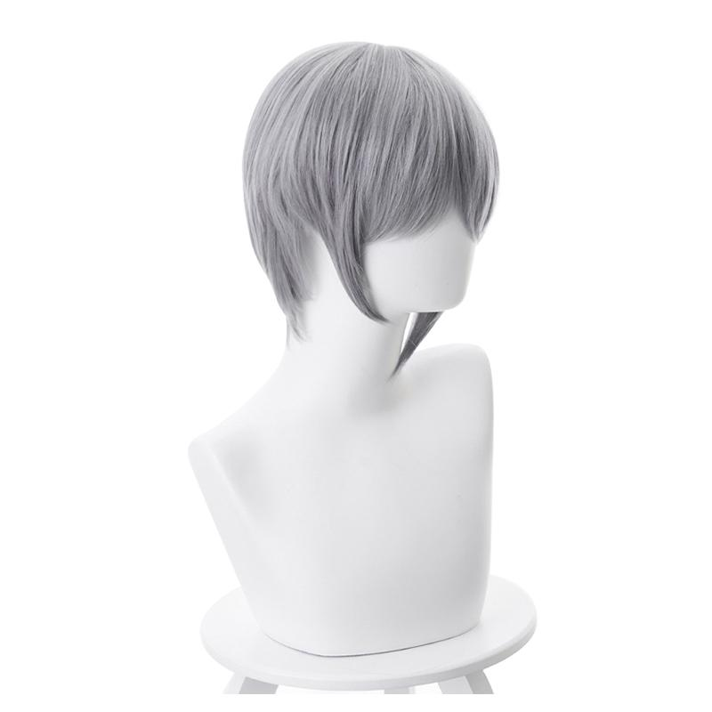 Anime Fruits Basket Soma Yuki 35cm Short Gray Cosplay Wigs