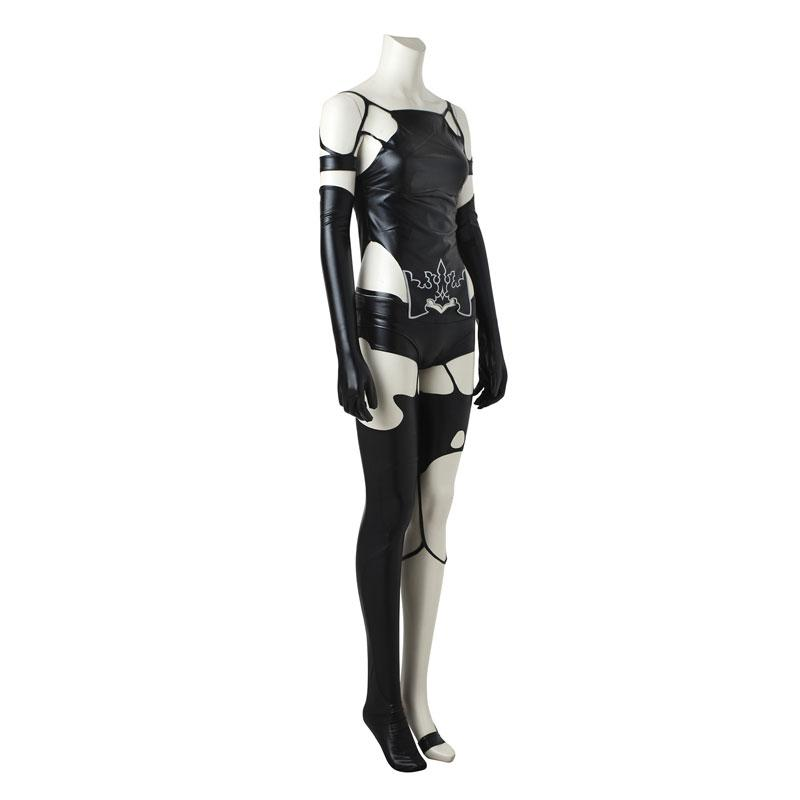 Video Game Nier: Automata Yorha A2 Type a No.2 Women Halloween Cosplay Costumes(Customized)