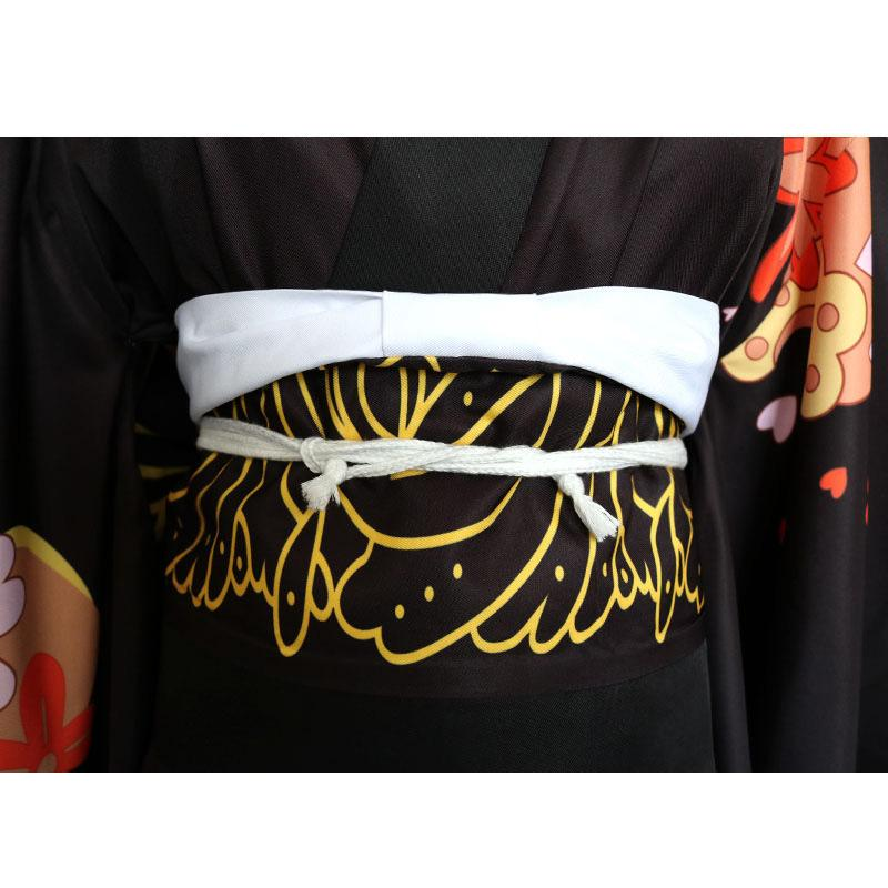 Anime Demon Slayer Kimetsu no Yaiba Kibutsuji Muzan kimono Woman Uniform Halloween Cosplay Costumes