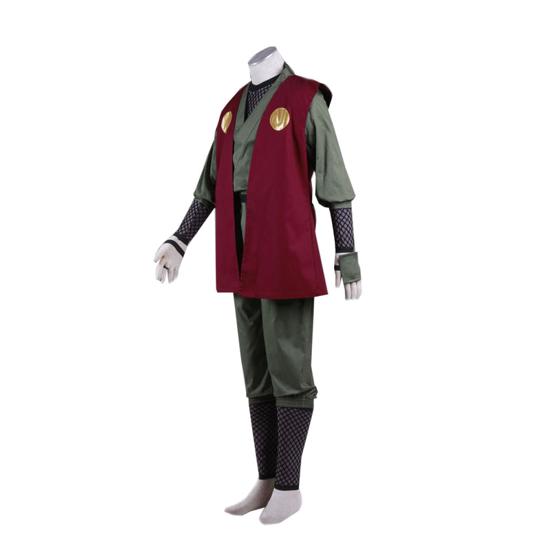 Anime Naruto Jiraiya Ninja Set Cosplay Costume