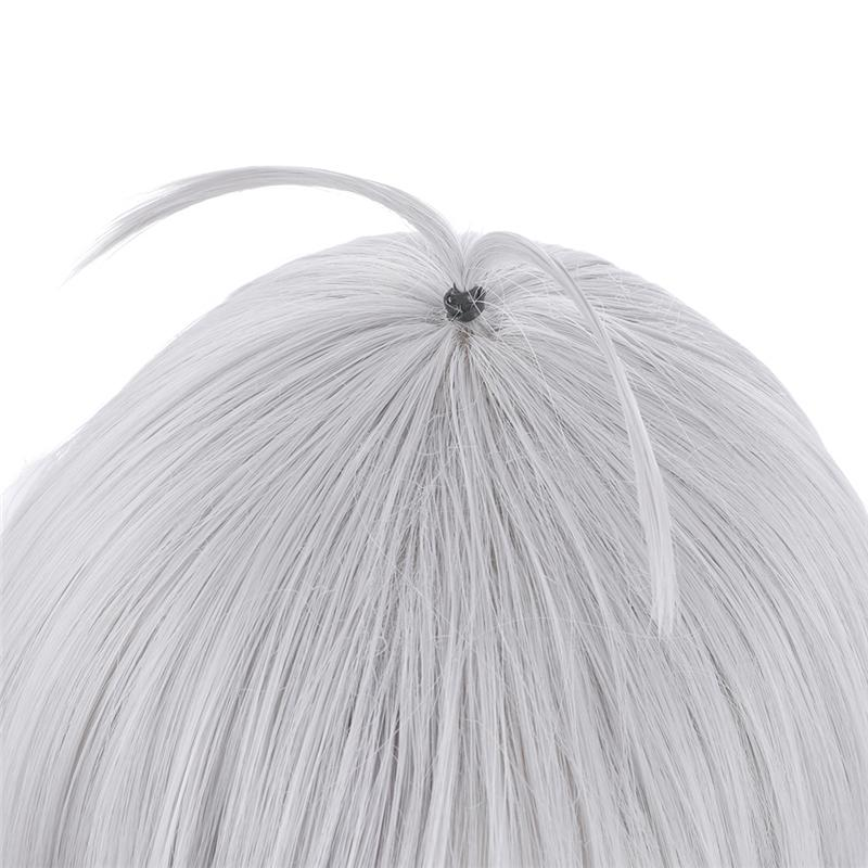 Princess Connect! Re:Dive Kokoro Natsume Silver Gray Short Synthetic Cosplay Wig