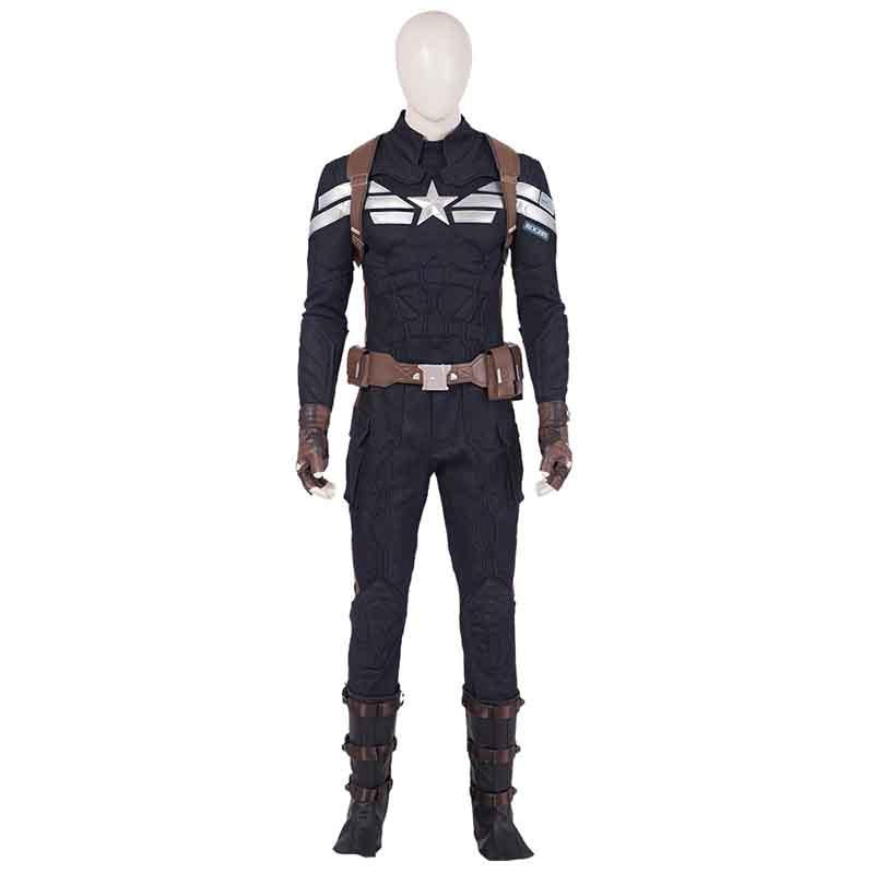 Avengers 4 America Captain Cosplay costume