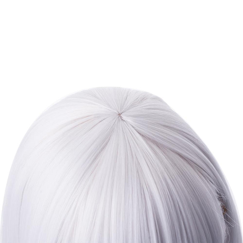 FGO Fate Grand Order Assassin Kama 35cm Short Silver Grey Halloween Cosplay Wigs