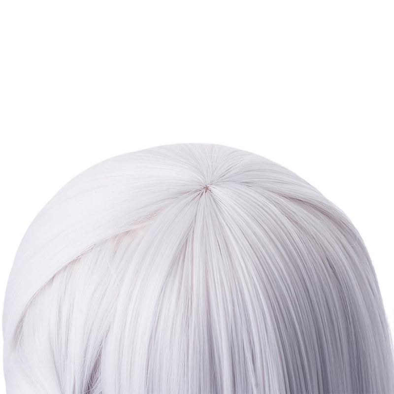 FGO Fate Grand Order Kama 55cm Long Silver Halloween Cosplay Wigs