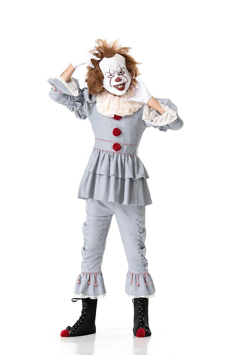 Stephen Kings It Joker Cosplay Costume Pennywise Costume Halloween Costumes Outfit Suit