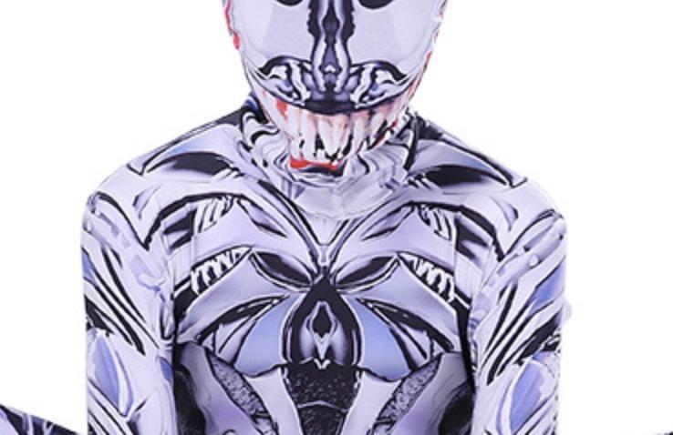 Spiderman Jumpsuit Venom Cosplay Costume For Children And Adults Halloween