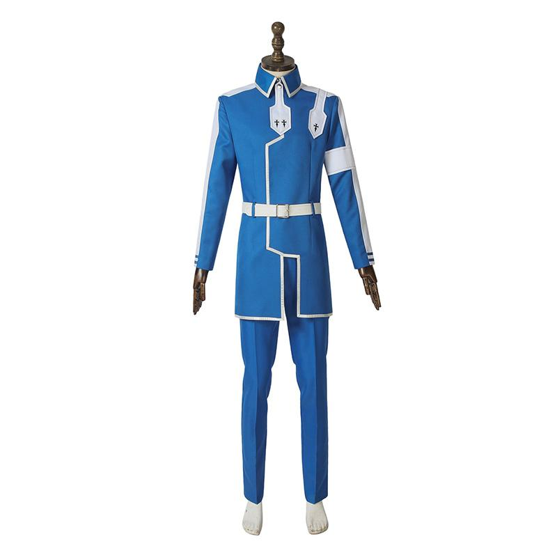 Anime Sword Art Online Alicization Under World Eugeo Cosplay Costume