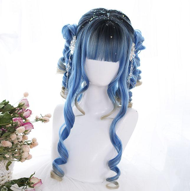 Blue Ancient Wig SD01058