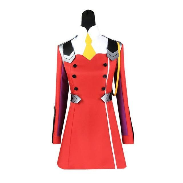 DARLING in the FRANXX Zero Two 002 Cosplay Coat Uniform Costume [2 Styles]