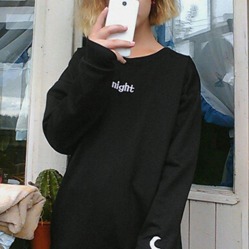 Day & Night Long Sleeve Sweater [2 Styles]