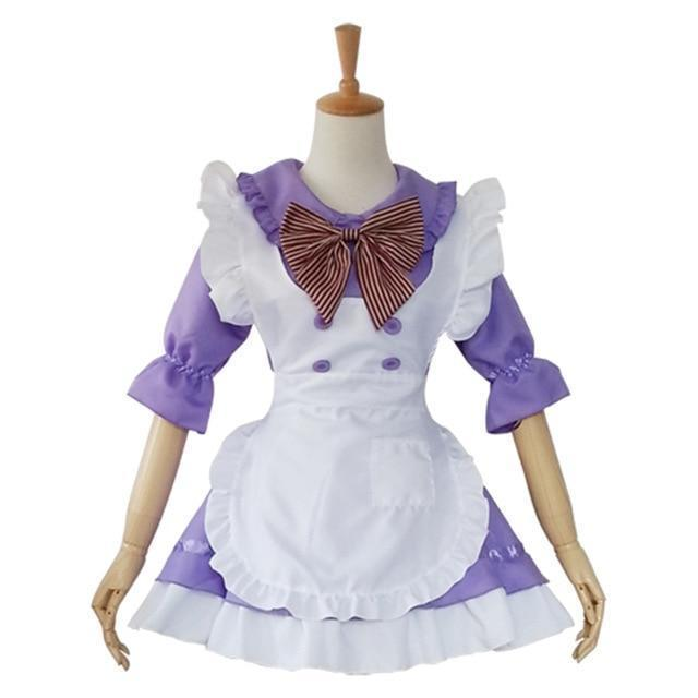 Japanese Maid Uniform Cosplay Costume Set [8 Colors]
