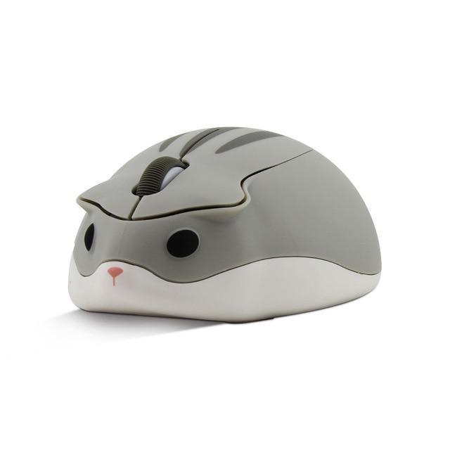 Kawaii Cartoon Hamster Wireless USB Optical Computer Mouse
