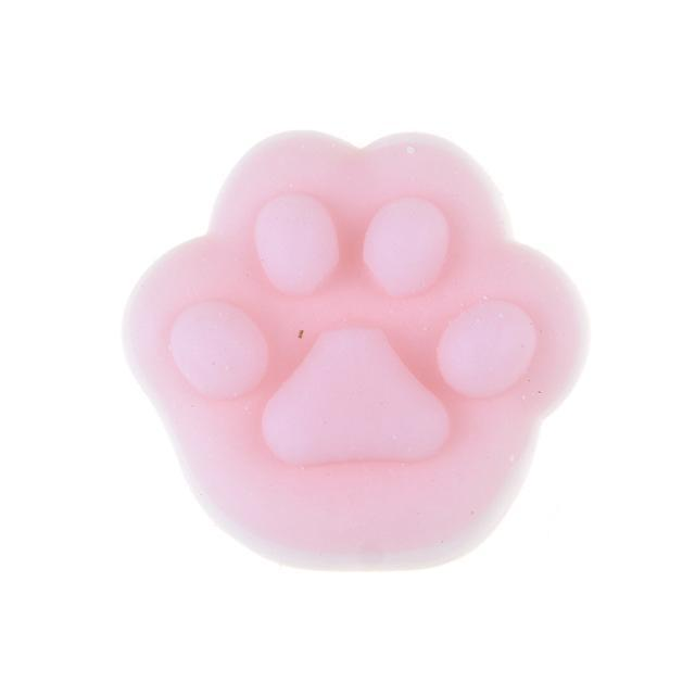 Kawaii Cat Paw Squishie Stress Reliever Toy [3 Colors]