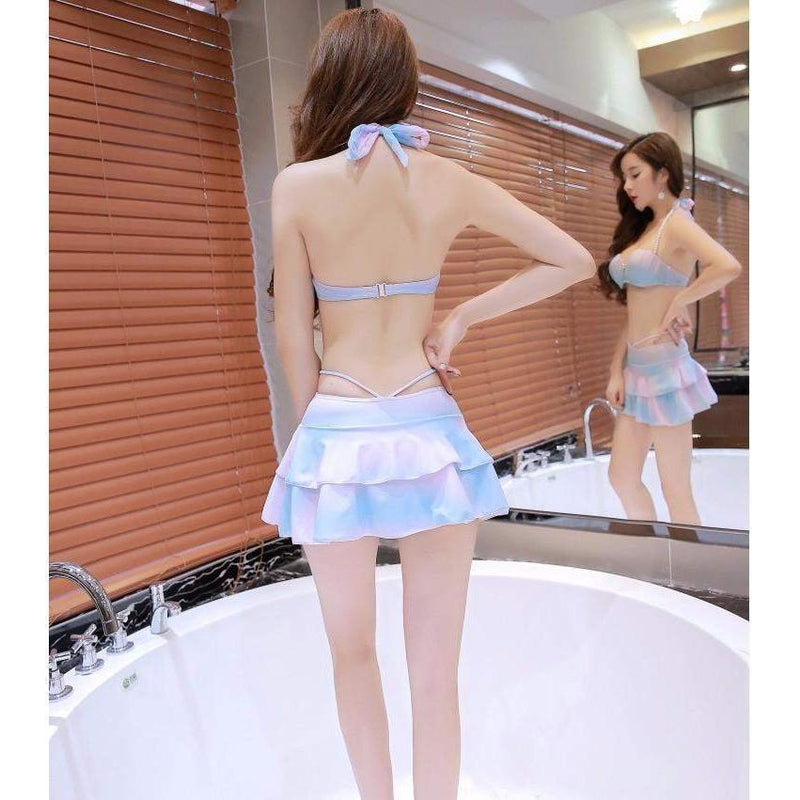 Kawaii Mermaid Sea Shell Bikini Swimwear Set [4 Styles]