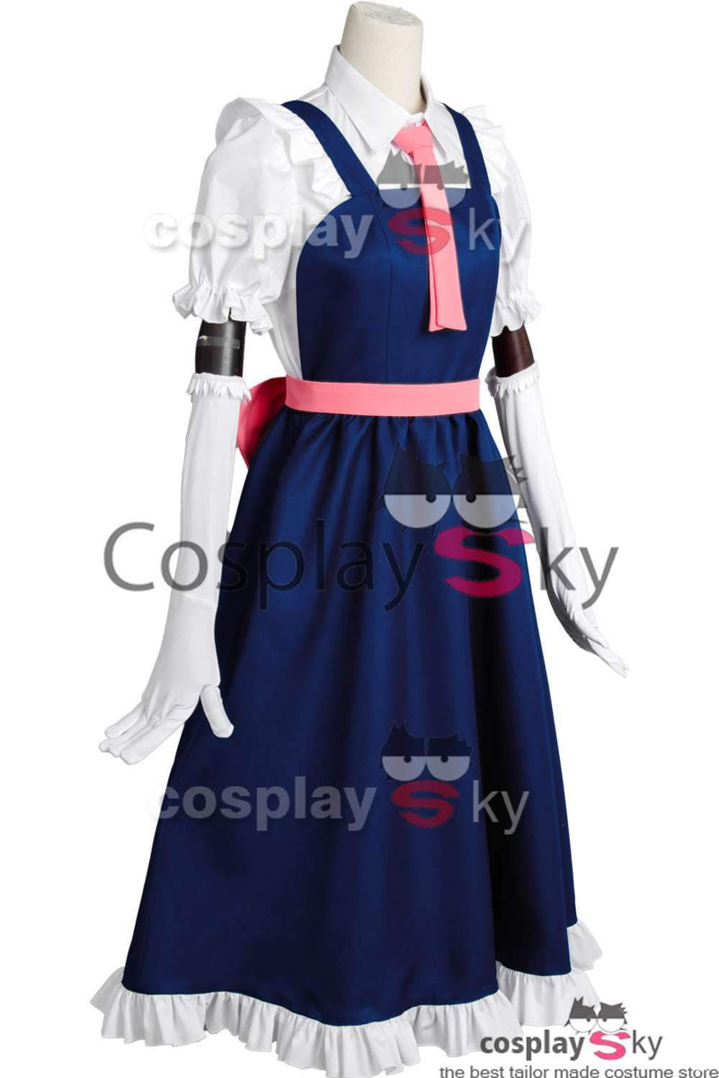 Miss Kobayashi-san Dragon Maid Toru Tohru Costume + Wigs + Shoes