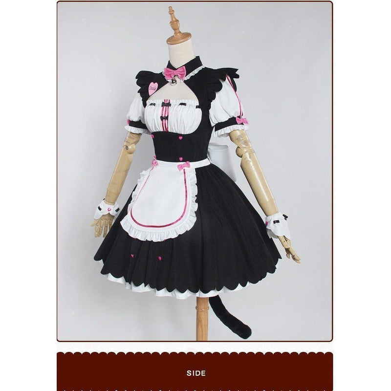 Nekopara Chocola Maid Servant Cosplay Costume