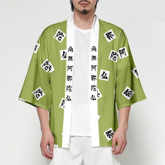 Anime Demon Slayer Kimetsu No Yaiba Tanjiro Kamado Cosplay Costume Men Kimono Plus Size Jackets Halloween Party For Women TS015