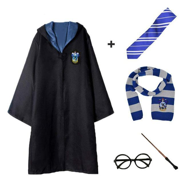 Magic Cloak Potter Cosplay Costume Robe Cape Hermione Granger Cosplay Potter Costume