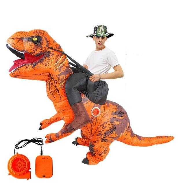 Hot T REX Inflatable Dinosaur Costume party Cosplay costumes Fancy Mascot Anime halloween Costume For adult kids Dino Cartoon