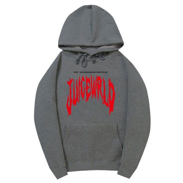 Rapper Juice Wrld Hoodies Autumn Winter Men/Women Fashion print pop hip hop style cool Juice Wrld sweatshirt hoody pullover