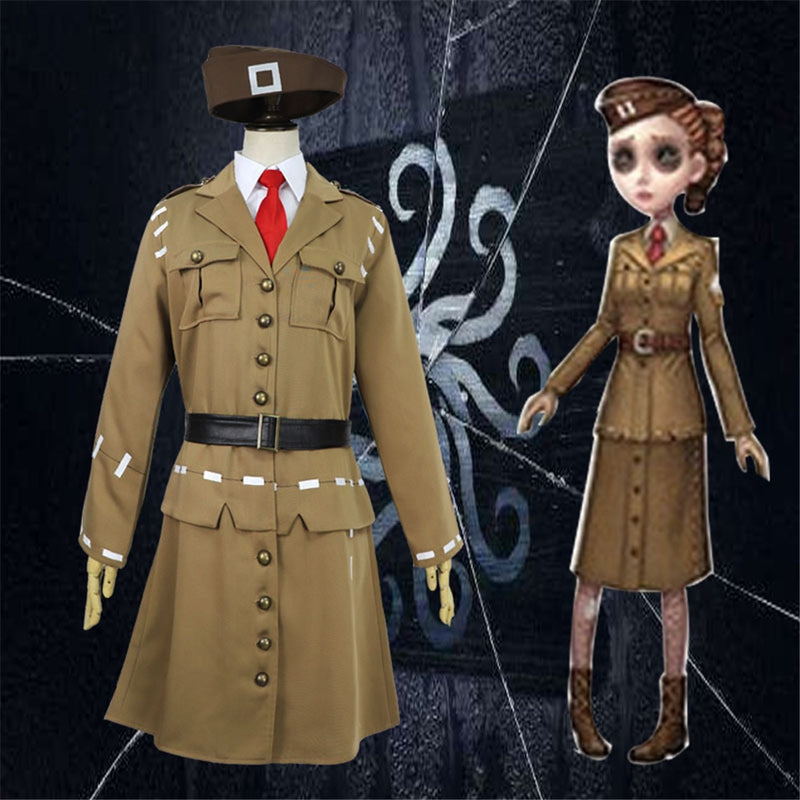 Game Identity V Cosplay Costume Coordinator Martha Behamfil Cosplay Costume Halloween Carnival Party Cosplay Costumes