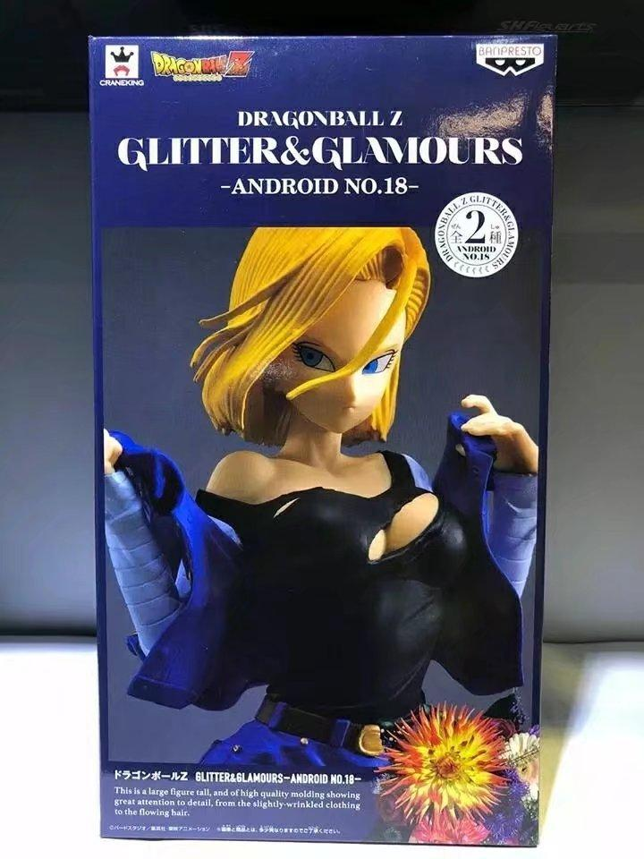 Dragon Ball Z Android 18 Lazuli Anime Action Figure