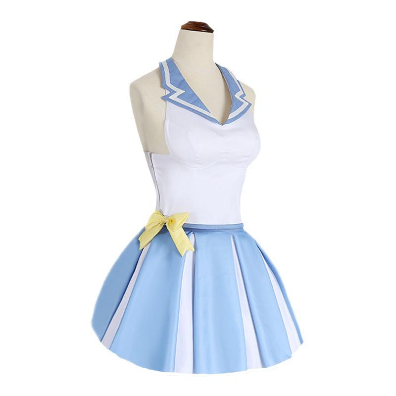 Anime Re:Zero Starting Life in Another World Rem Cheerleader Suit Cosplay Costume