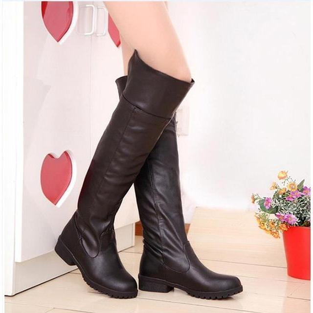 Shingeki no Kyojin Over-the-Knee Boots Attack on Titan Cosplay