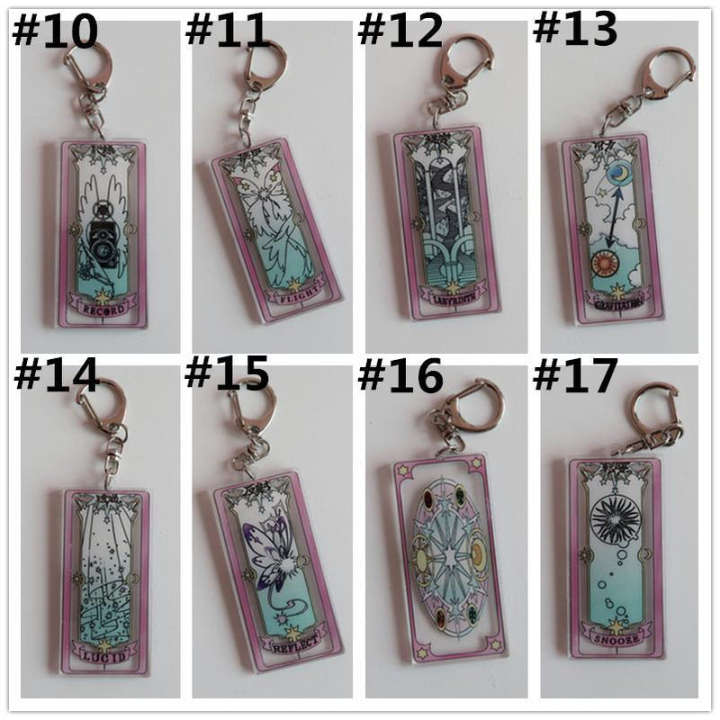 Card Captor Sakura Transparent Keychain CP1812488