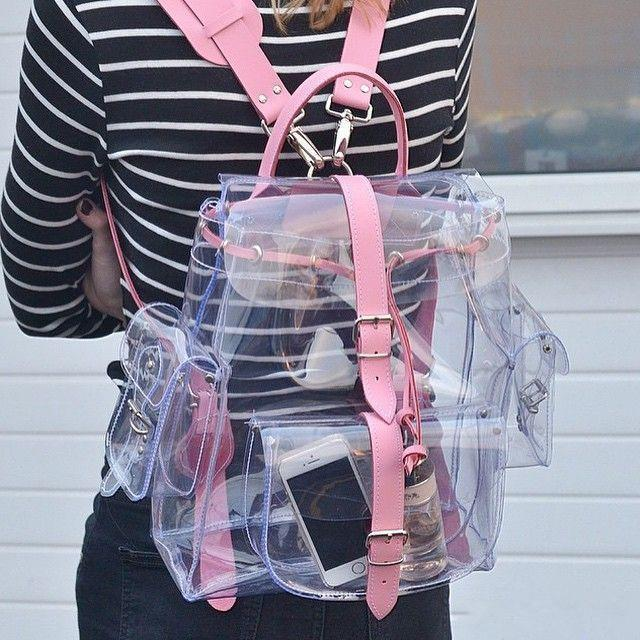 Transparent Kawaii Summer Backpack [2 Colors]