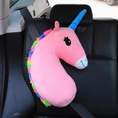 Child car seat belt shoulder pillow