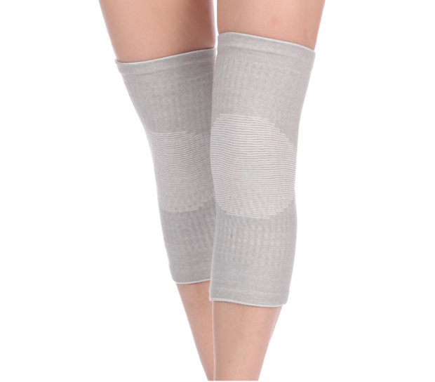 Self-heating knitted warm knee pads