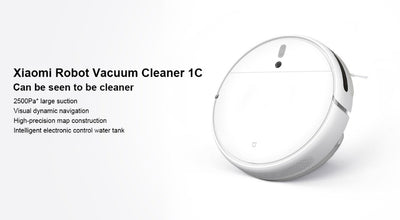 Robot Vacuum Cleaner 1C Sweeping Mopping