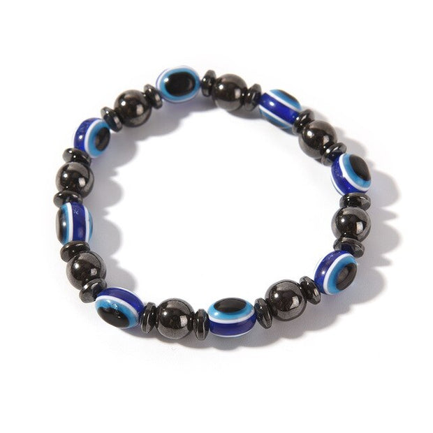 Magnetic Therapy Bracelet- Black Stone