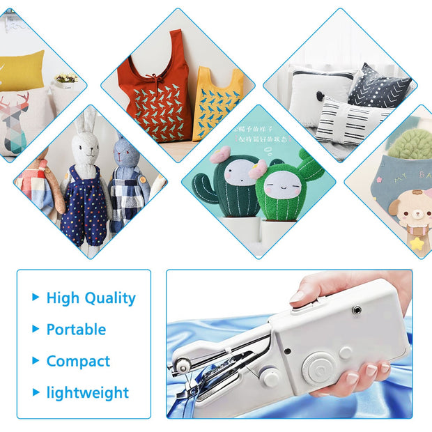 Portable Household Mini Hand Sewing Machine Quick Stitch