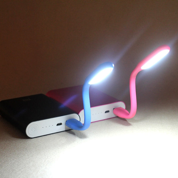 Creative USB Fan and Light for Desk or Dorms