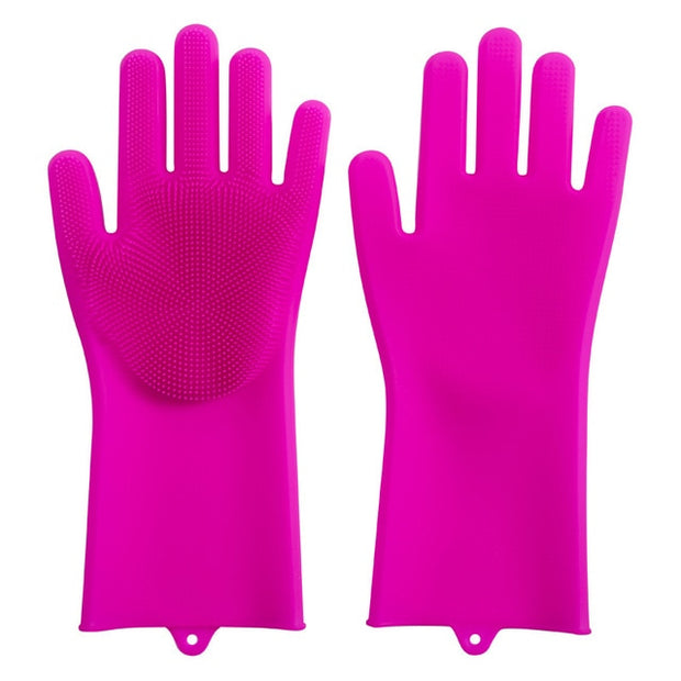 Magic Dishwashing Silicone Gloves