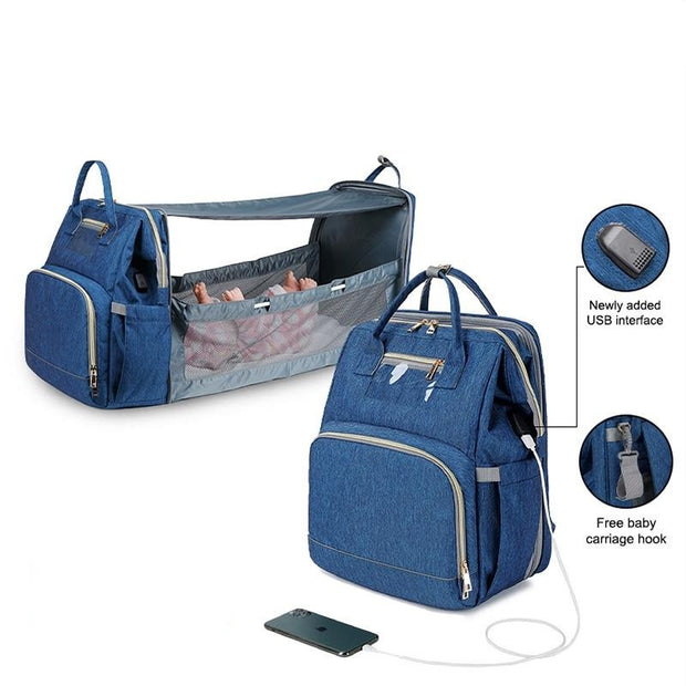 Pre-design baby mommy Stroller bags
