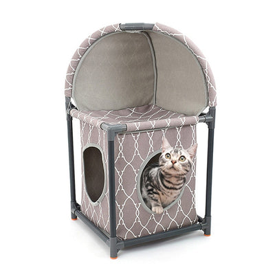 Double Layer Combination Cat Climbing Cat Play and Sleeping Bed