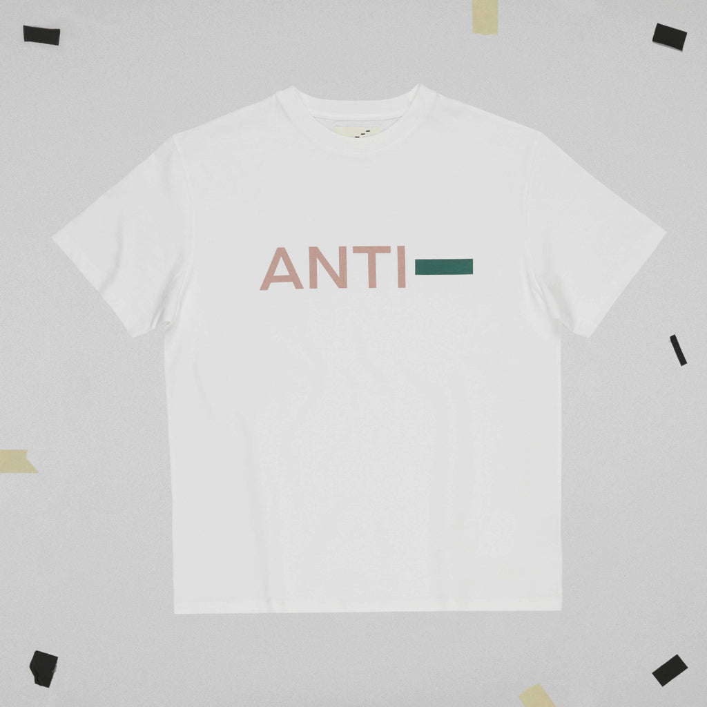 ANTI- T-SHIRT STILL LIFE FRONT