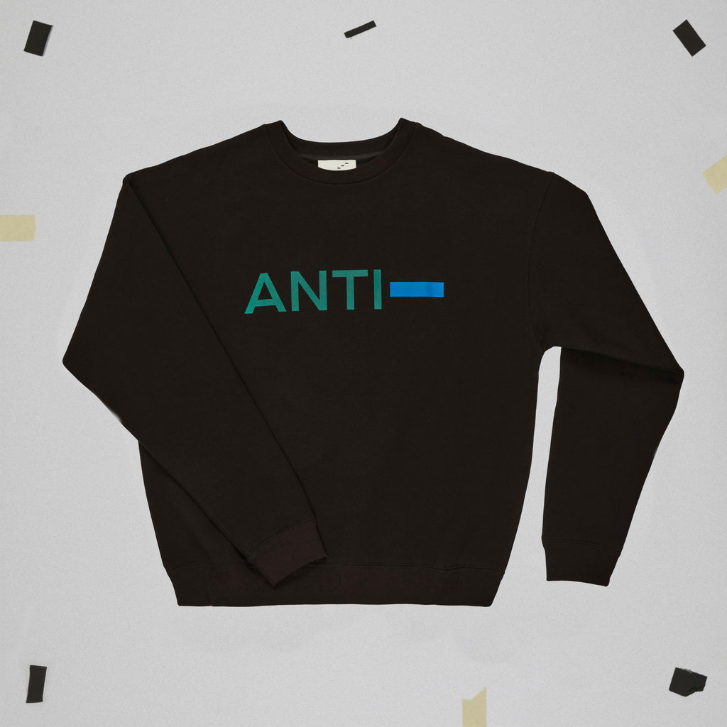 ANTI- SWEATSHIRT STILL LIFE FRONT