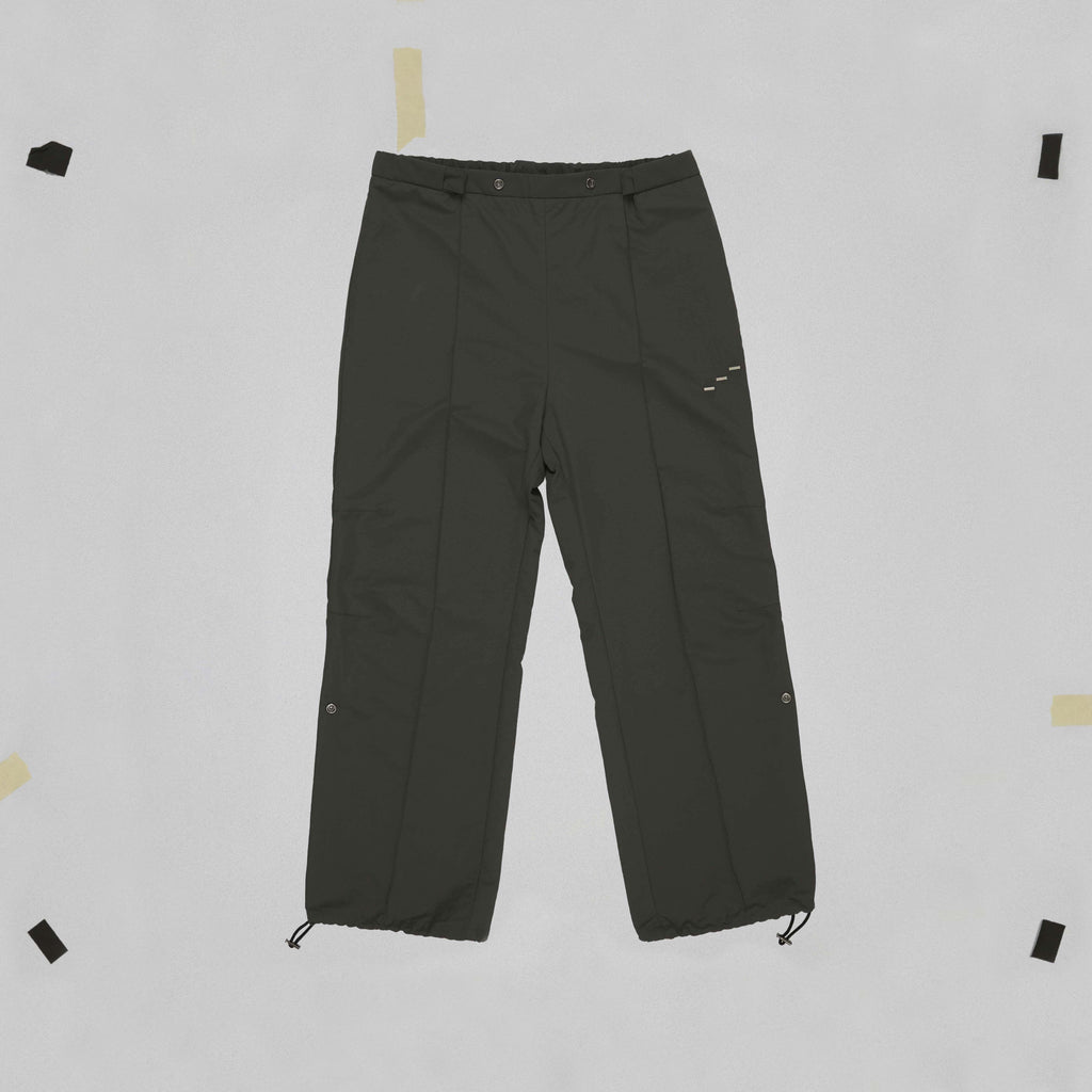 WATERPROOF ADJUSTABLE TRACK PANTS STILL LIFE FRONT