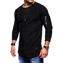 Load image into Gallery viewer, Long Sleeve Shirt With Zipper