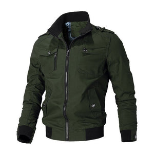 military style field jacket