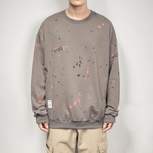 Load image into Gallery viewer, Japanese Style Paint Splatter Sweater