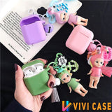 My Angel Doll Silicone Protective Shockproof Case For Apple Airpods 1 & 2 - AirPods