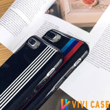BMW Style M Series Glossy Silicone Designer iPhone Case For X XS Max XR 7 8 Plus